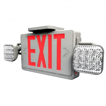 LED Exit Sign with light back-up