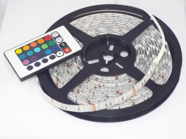 12V Flexible RGB LED Strip Light Kit,