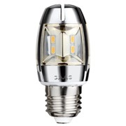5Watt LED Chrome Candelabra Bulb E27 Base Dimmable