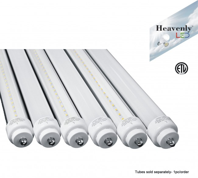 foot 40watt non balast led tube heavenly etl certified led tubes. Black Bedroom Furniture Sets. Home Design Ideas