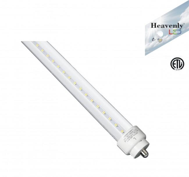 foot 40watt non balast led tube heavenly etl certified led tubes. Black Bedroom Furniture Sets. Home Design Ideas