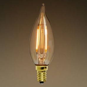 Candelabra Antique 6W LED Filament bulb