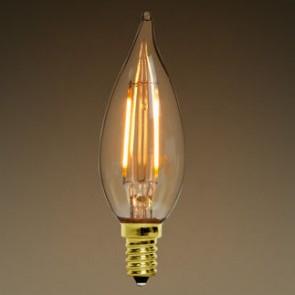 Candelabra Antique 6W LED Filament bulb