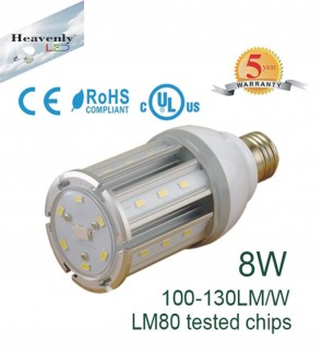 8 Watt Corn LED light bulb