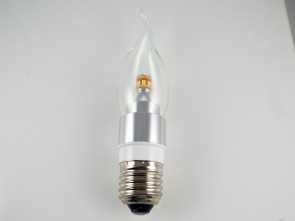 Candelabra 5Watt LED Bulb E26 Base