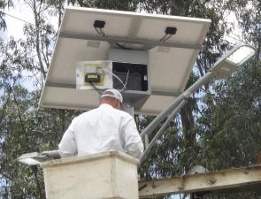 40W Multi LED Solar Street Lighting KIT