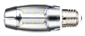 8Watt LED Chrome Candelabra Bulb E27 Base Dimmable